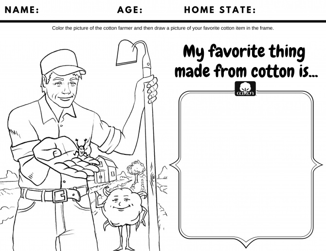 Cotton Activity Sheet